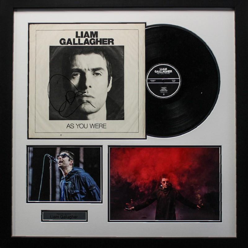 Liam Gallagher 'As You Were' Signed Album LP