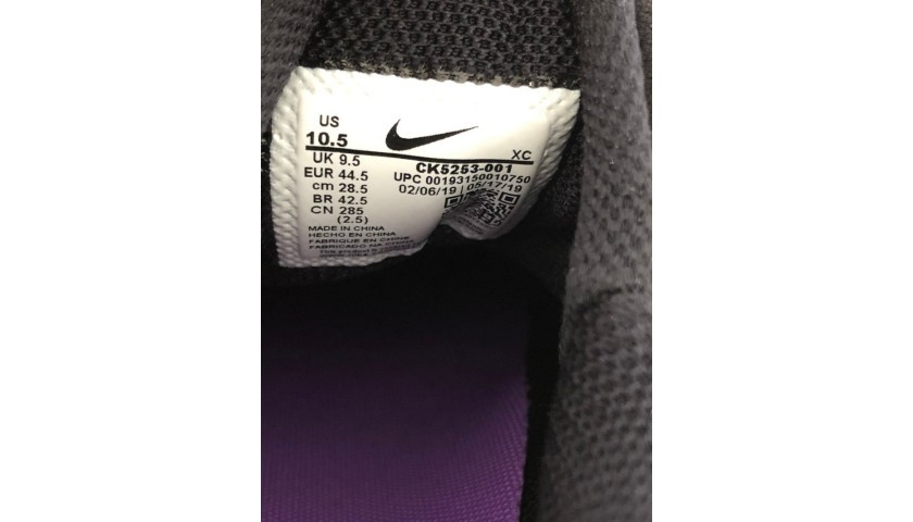 Rafa Nadal's Match-Issued Signed Nike Tennis Shoes