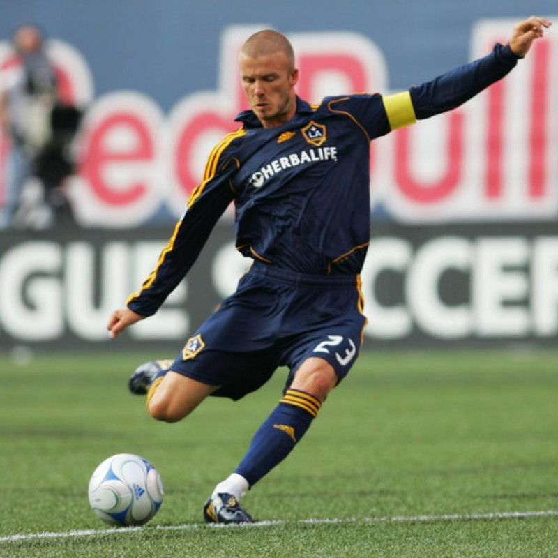Beckham's LA Galaxy Match Shirt, MLS 2007/08