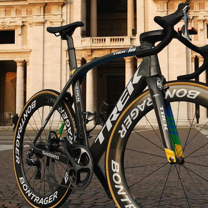 Special Edition Bike used by the Swiss Bike Racer Cancellara