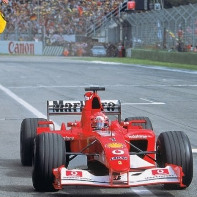 Michael Schumacher Ferrari F-2001 Valve
