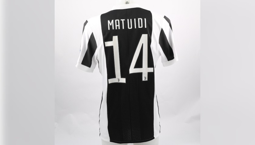 timeless design d690b 81789 Matuidi's Match-Issue/Worn Shirt, Barcelona-Juventus - CharityStars