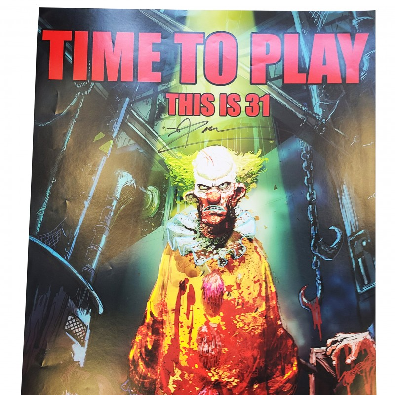 Rob Zombie Signed Poster