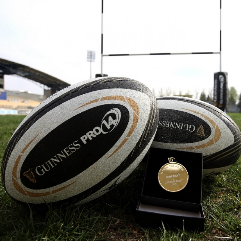 Match-Ball Guinness PRO14 - Signed by the Zebre Rugby Club Players