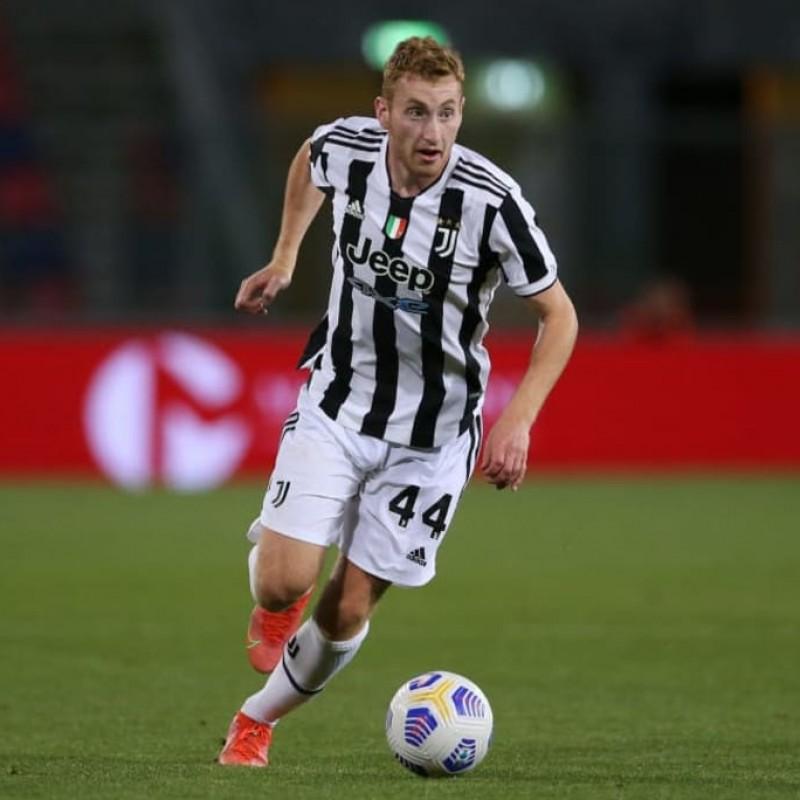 Kulusevski's Match Shirt, Bologna-Juventus 2021