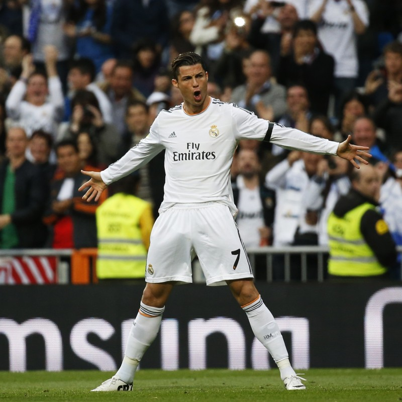 Ronaldo's UNWASHED Match-Worn Shirt