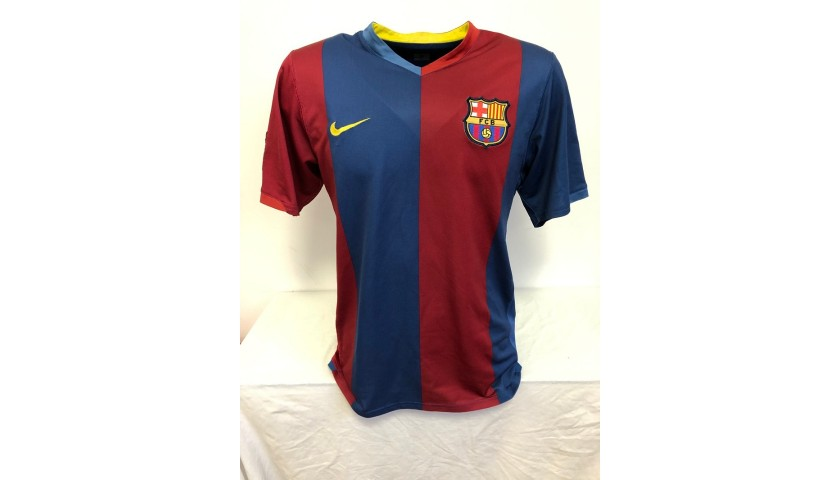 Messi's Official Barcelona Signed Shirt, 2006/07