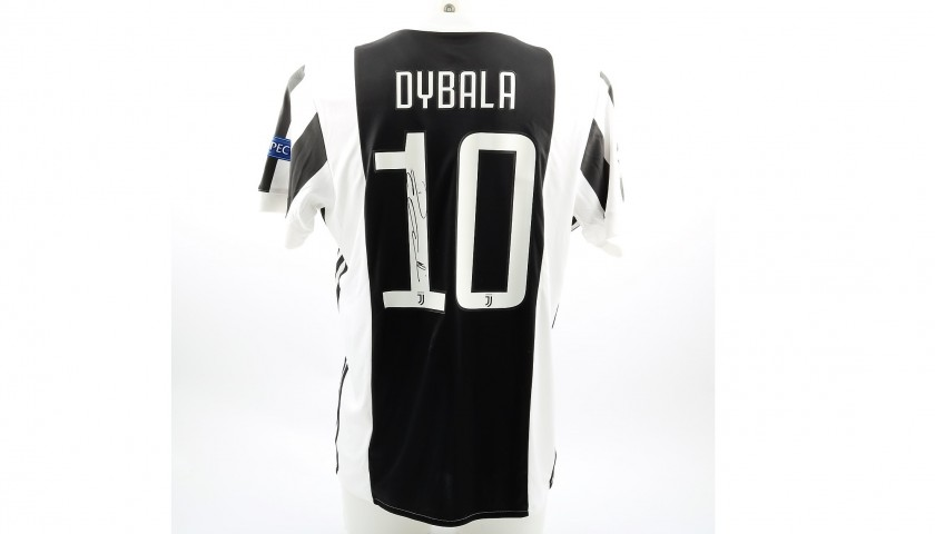 timeless design 85c15 baf41 Official 2017/18 Juventus Shirt Signed by Dybala - CharityStars