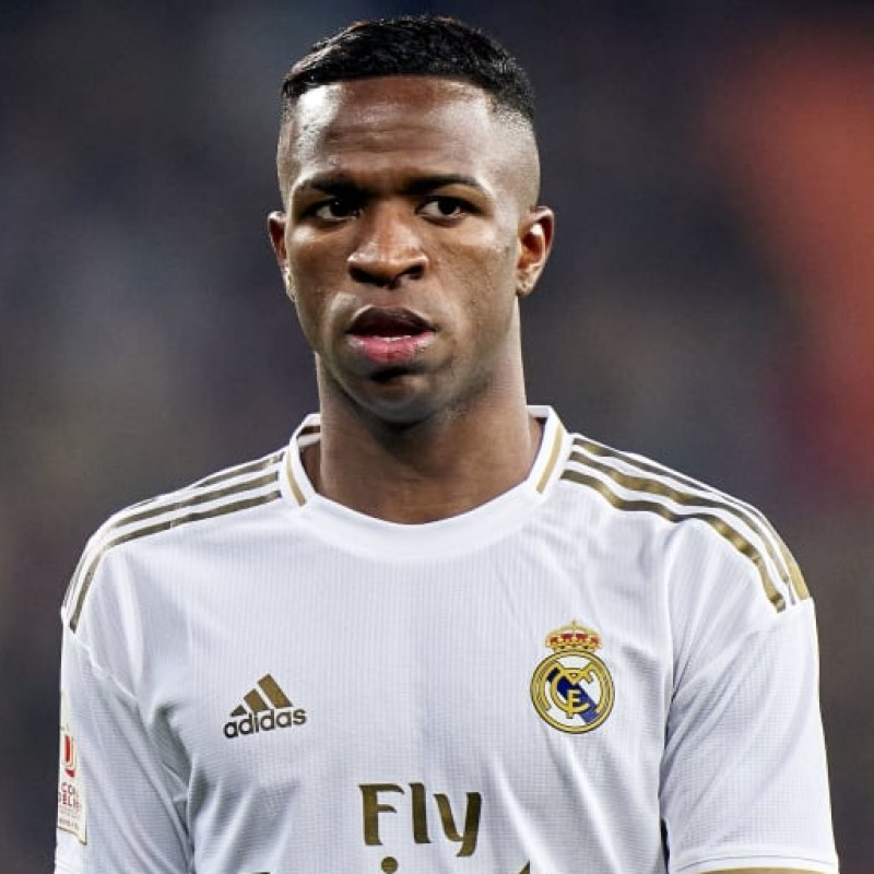 Vinicius's Official Real Madrid Signed Shirt, 2019/20