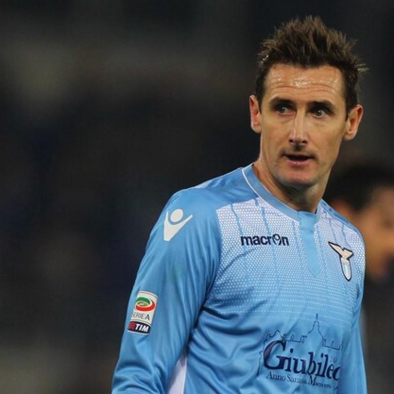 Nike Boots Issued to Miroslav Klose, Lazio-Juventus 2015
