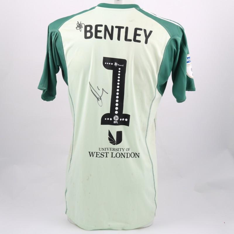 Bentley's Brentford Worn and Signed Poppy Shirt