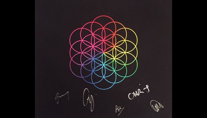 Signed Coldplay Giclee Print