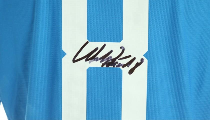 Fabian's Napoli Worn and Signed Shirt, 2018/19 - CharityStars
