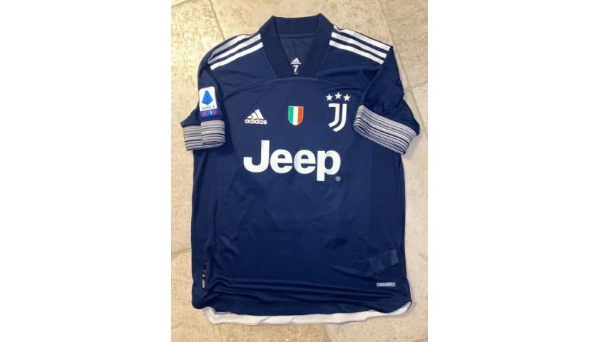 Kulusevski's Juventus Match Shirt, 2020/21