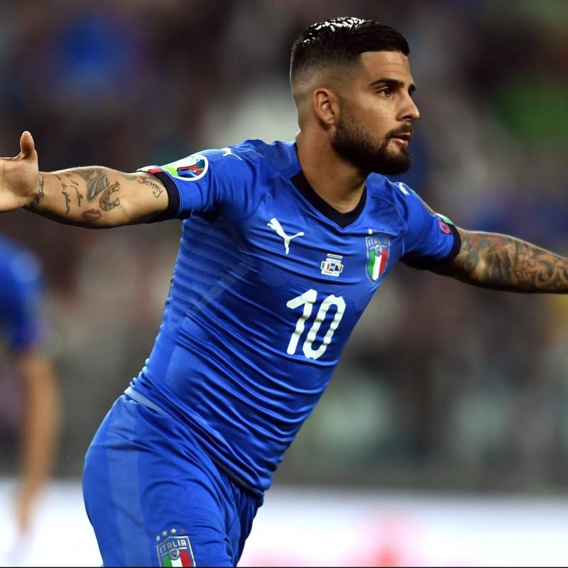 Insigne's Match Shirt, Italy-Bosnia 2019