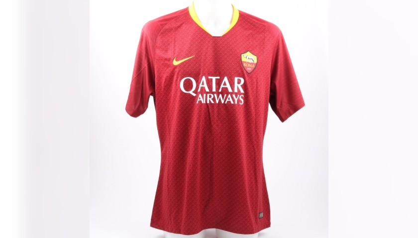 De Rossi's Official AS Roma Shirt, 2018/19 - Signed by the Players ...