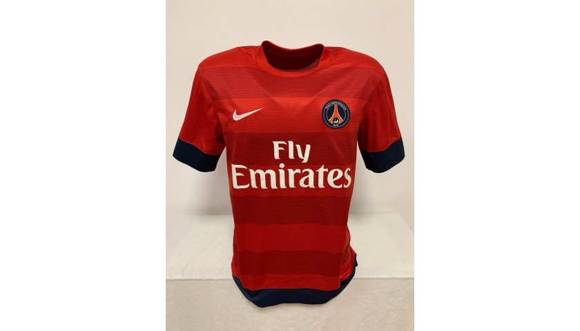 Lavezzi's Official PSG Signed Shirt, 2013/14