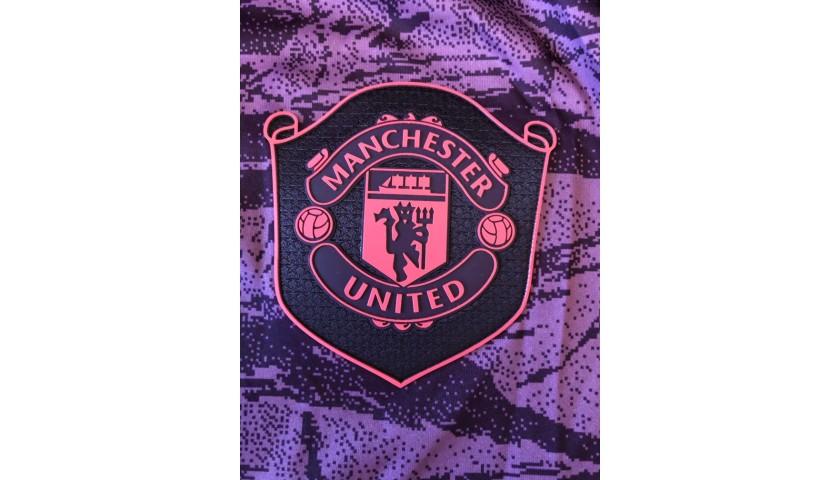"""De Gea's Man United Match Shirt, 2019/20 - """"Black Lives Matter"""""""