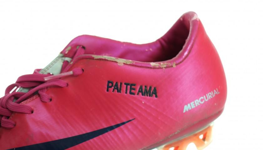 Nike Boots Signed by Robinho