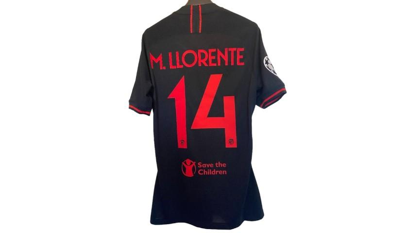 Llorente's Match Shirt, Leipzig-Atletico Madrid 2020