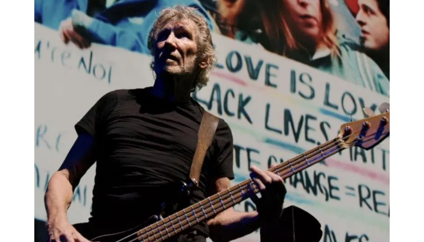 """""""The Wall"""" Poster Hand Signed by Pink Floyd's Roger Waters"""
