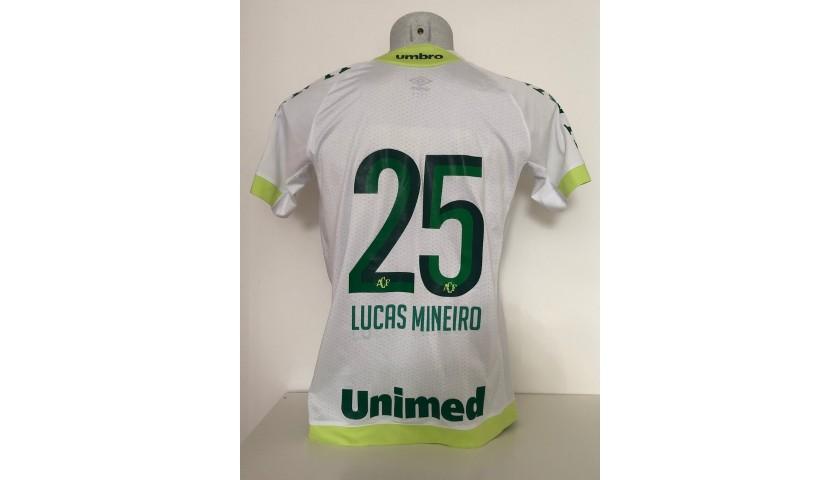 Lucas Mineiro's Worn Shirt, Roma-Chapecoense 2017