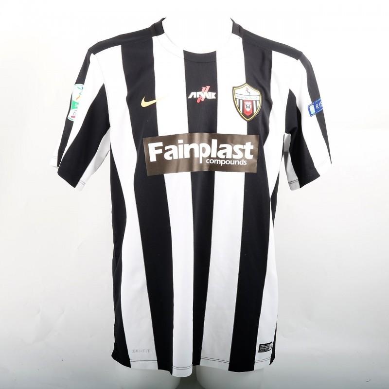 Lazzari's Match-Worn Shirt, Perugia-Ascoli 4/17/2017