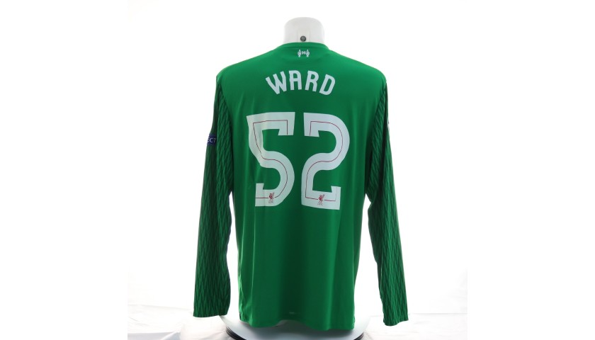 Ward's Liverpool Match Shirt, UCL 2017/18
