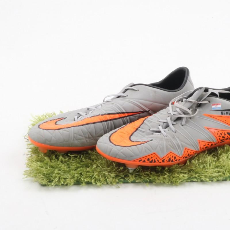 Mandzukic Match Worn Boots, Serie A 2015/16