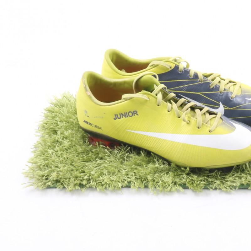 Robinho Nike Mercurial Match Worn Boots