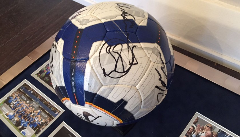 Signed Chelsea-Tottenham Match Ball, 2009/10 Premier League
