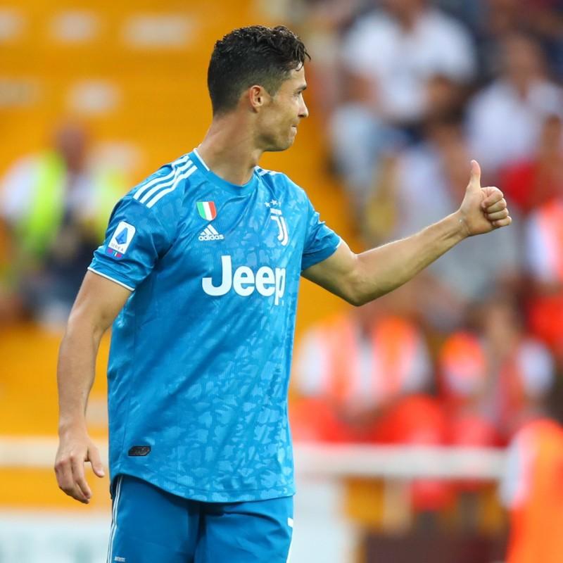 Ronaldo S Juventus Match Shirt Serie A 2019 20 Charitystars