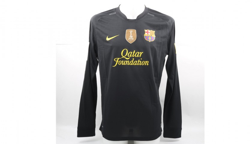 Messi's Signed Match-Issued/Worn 2012 Barcelona Shirt
