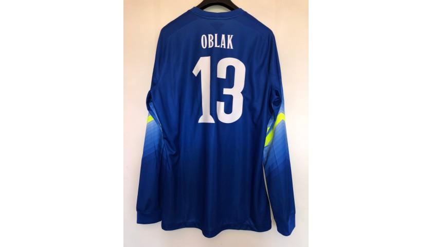 Oblak's Match Shirt, Atletico Madrid-Juventus 2014