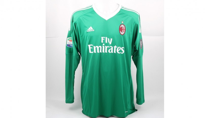 Donnarumma's Official 2017/18 Shirt - Signed