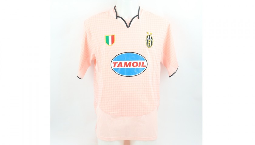 Di Vaio's Juventus Match Shirt, TIM Cup 2003/04