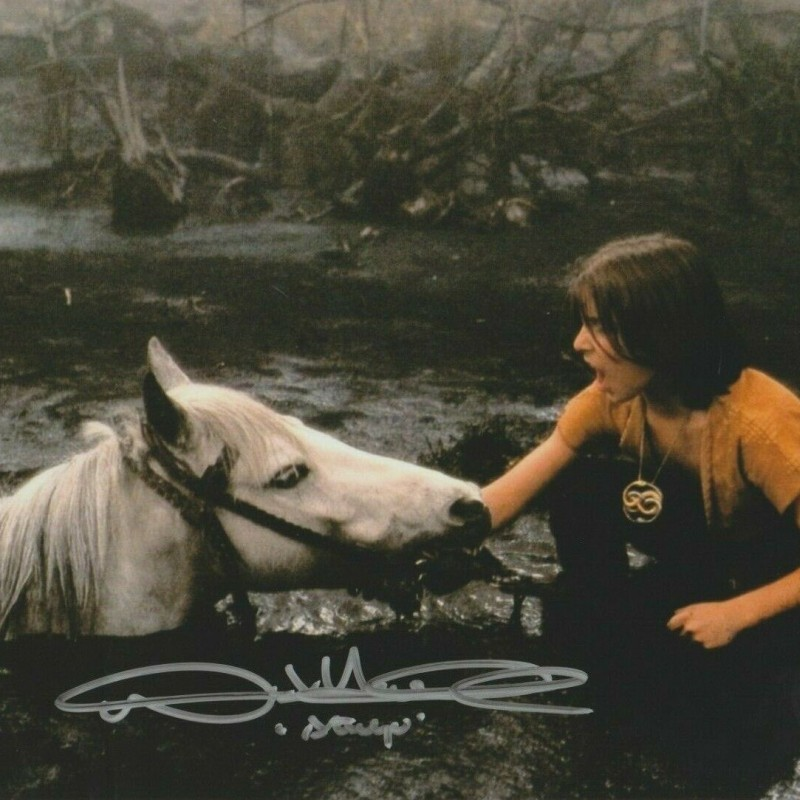 """The NeverEnding Story"" Photograph Signed by Noah Hathaway"