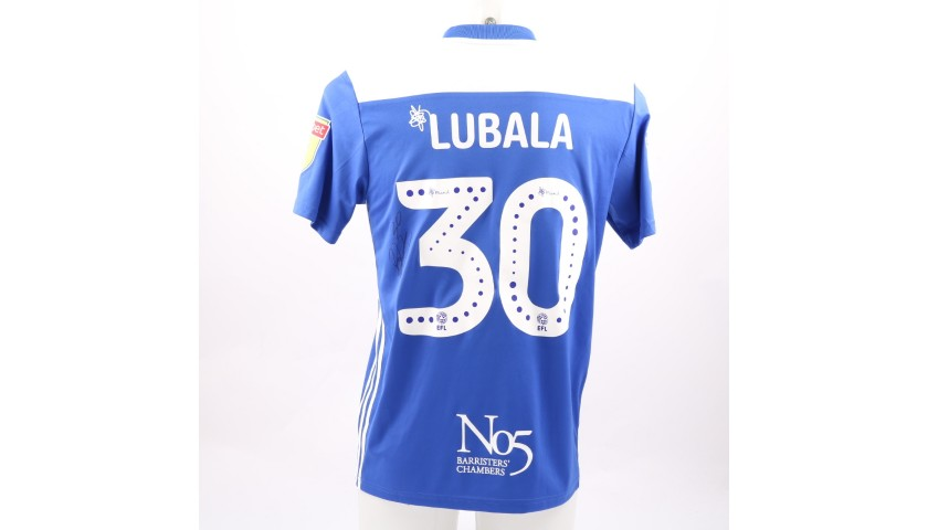 Lubala's Birmingham City FC Worn and Signed Poppy Shirt