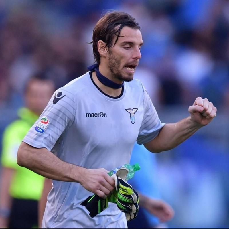 Marchetti's Lazio Match Shirt, Tim Cup 2016/17 + Bib