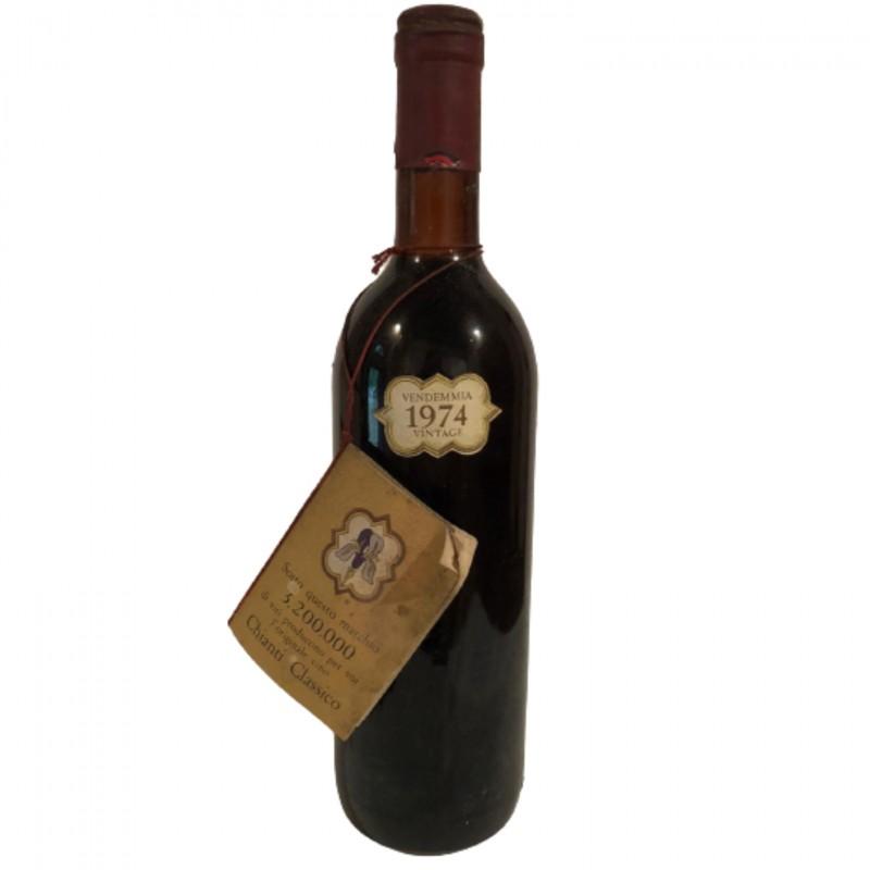 Bottle of Chianti Classico, 1974 - Castelli del Grevepesa