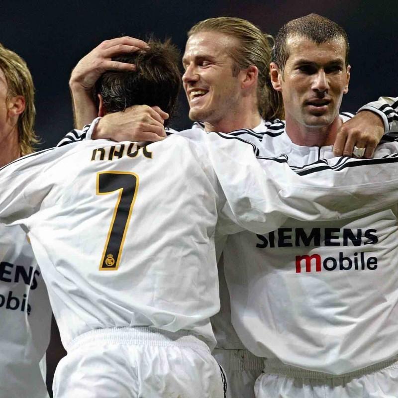 Beckham's Official Real Madrid Signed Shirt, 2003/04