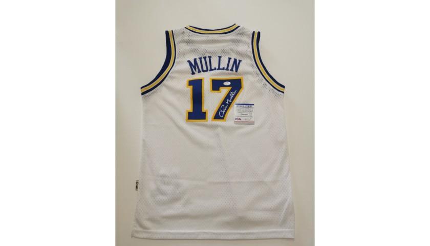 NBA Golden State Warriors Shirt Signed by Chris Mullin