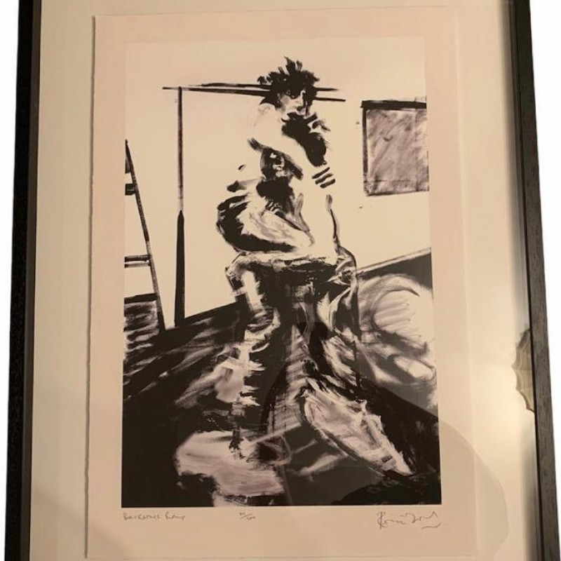 Ronnie Wood Signed Framed Limited Edition The Faces Art Print