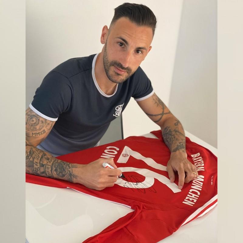 Contento's Bayern Munich Worn and Signed Shirt, 2013/14