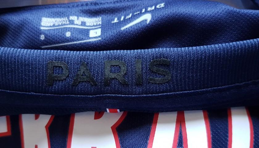 Signed Official 2016/17 Verratti PSG Shirt