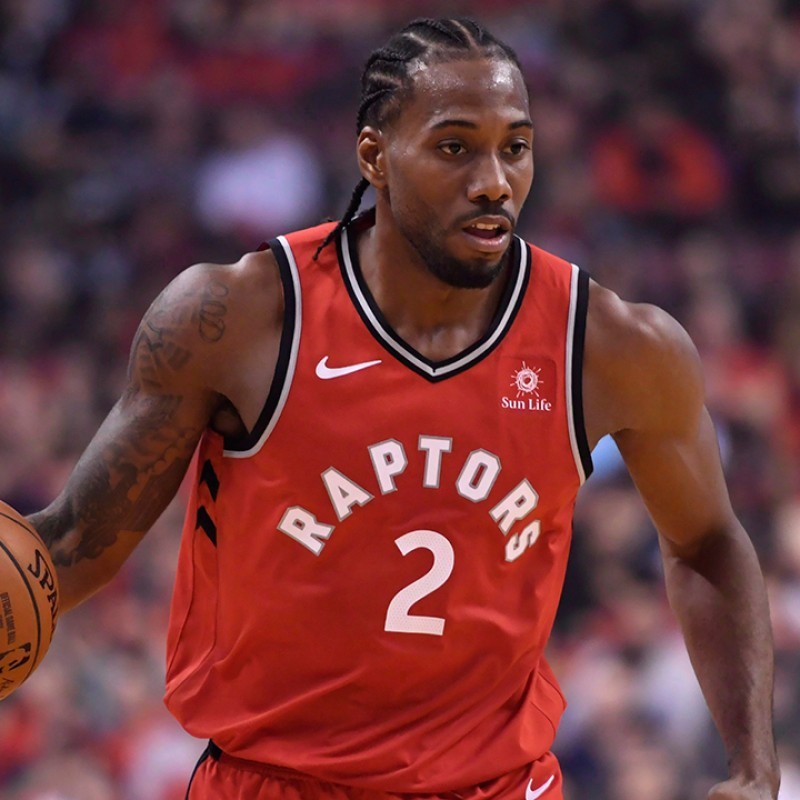 Leonard's Toronto Raptors Official Signed Jersey, 2018/19