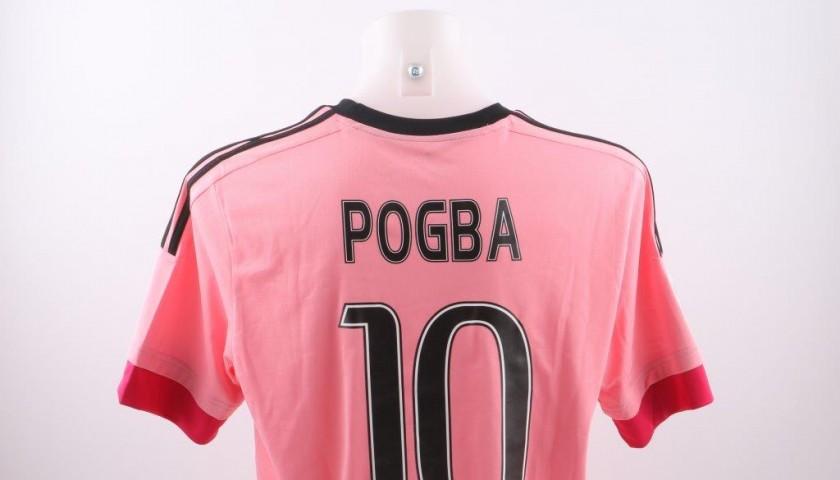 pretty nice 6d64d efc33 Official replica Pogba Juve shirt, Serie A 15/16 - signed - CharityStars