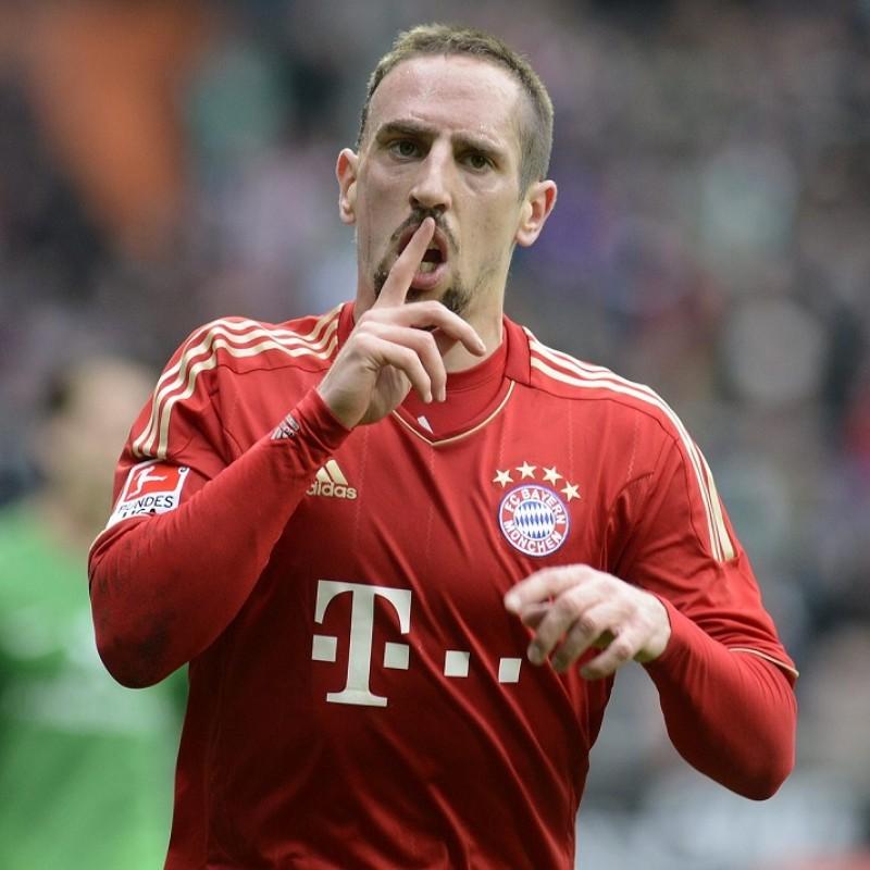Ribéry's Official Bayern Munich Signed Shirt, 2011/12