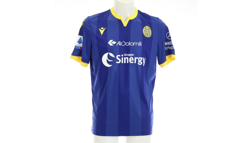 Lucas' Match-Issued Shirt, Hellas Verona-Atalanta 2020