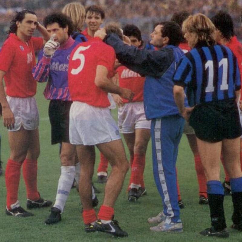 Corradini's Match-Issued/Worn 1988/89 Napoli Shirt